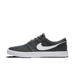 Мужская обувь для скейтбординга Nike SB Solarsoft Portmore II Canvas PremiumМужская обувь для скейтбординга Nike SB Solarsoft Portmore II Canvas Premium с верхом из необработанной парусины и подошвой из натуральной липкой резины создана для комфорта и превосходного сцепления с доской.<br>