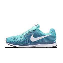 Женские беговые кроссовки Nike Air Zoom Pegasus 34Женские беговые кроссовки Nike Air Zoom Pegasus 34 с обновленным верхом из более легкого материала Flymesh, принимающего форму стопы, подойдут как для начинающих, так и для опытных бегунов. Кроме того, они помогают избежать перегрева на любой дистанции. Проверенные временем амортизация и поддержка давно полюбились бегунам.<br>