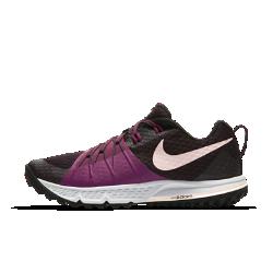 Женские беговые кроссовки Nike Air Zoom Wildhorse 4Созданные для бега по пересеченной местности женские беговые кроссовки Nike Air Zoom Wildhorse 4 с защитным супинатором и нитями Flywire в области свода стопы обеспечивают защиту и комфортную поддержку на сложных типах поверхности.<br>