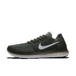 Мужские беговые кроссовки Nike Free RN Flyknit 2017Мужские беговые кроссовки Nike Free RN Flyknit 2017 — самые легкие и создающие самые естественные ощущения кроссовки в линейке Free, идеальные для коротких пробежек. Плотно прилегающий верх обхватывает стопу и практически не ощущается на ноге, а инновационная подошва не ограничивает естественные движения стопы. А складывающаяся конструкция позволяет носить кроссовки в сумке, так что ты можешь совершить пробежку, когда захочешь.  Плотная удобная посадка  Верх из материала Flyknit повторяет форму стопы, обеспечивая плотную посадку. Материал Flyknit усиливает вентиляцию в верхней части, создает поддержку в области пальцев иповышает эластичность на внешней части стопы, обеспечивая ощущение прохлады во время бега.  Свобода движений  Подошва Nike Free обеспечивает комфорт минималистичной беговой обуви. Она повторяет естественные движения стопы, расширяясь при каждом приземлении и принимая исходную форму при отталкивании.  Невероятная легкость и поддержка  Прочные, но очень легкие нити Flywire усиливают поддержку благодаря интеграции со шнурками. Отсутствие части нитей в верхней части шнуровки способствует более плавным движениям стопы и позволяет ни на что не отвлекаться.  Подробнее  Один шов на внутренней части пятки для гладкости и комфорта Скругленная пятка для комфорта и плавных движений стопы Подметка из пеноматериала с накладками из резины в передней части и в области пятки для прочности Вес: 225 г (мужской размер 10) Перепад: 8 мм  Истоки Nike Free  Узнав, что спортсмены Стэнфордского университета тренируются босиком, три самых изобретательных и креативных сотрудника Nike взялись за разработку кроссовок, которые бы не ощущались на ноге и сидели, как вторая кожа. В течение четырех лет специалисты изучали биомеханику стопы во время бега. В результате им удалось определить естественный угол приземления стопы, давление и положение носка, что позволило дизайнерам Nike создать уникальные и гибкие беговые кроссовки профес