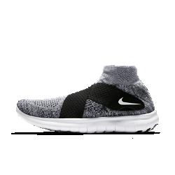 Мужские беговые кроссовки Nike Free RN Motion Flyknit 2017Мужские беговые кроссовки Nike Free RN Motion Flyknit 2017 обеспечивают естественность движений стопы. Ультрагибкая подошва меняет форму вместе со стопой во время бега. Удобнаясистема фиксации с двумя ремешками заменяет традиционную шнуровку для дополнительной легкости.<br>