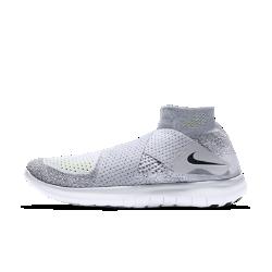 Женские беговые кроссовки Nike Free RN Motion Flyknit 2017Женские беговые кроссовки Nike Free RN Motion Flyknit 2017 обеспечивают естественность движений стопы. Ультрагибкая подошва меняет форму вместе со стопой во время бега. Удобнаясистема фиксации с двумя ремешками заменяет традиционную шнуровку для дополнительной легкости.  Плотная удобная посадка  Легкая ткань Nike Flyknit обеспечивает дополнительную эластичность сверху и поддержку в средней части стопы. Два сетчатых ремешка обеспечивают идеальную посадку и более высокий уровень комфорта в сравнении с традиционной шнуровкой.  Амортизация и поддержка  Два слоя пеноматериала обеспечивают идеальное сочетание комфорта и поддержки.  Создано для движения  Гибкая подошва Nike Free обеспечивает естественность движений стопы, расширяясь и сжимаясь при каждом шаге.  Подробнее  Меньше слоев материала для мягкости и абсолютного комфорта Литая внутренняя вставка повторяет форму стопы для идеальной посадки Скругленная пятка для комфорта и плавности движений при отталкивании Накладки из резины на носке и пятке для прочности Вес: 183 г (женский размер 8) Перепад: 4 мм  Истоки Flyknit  При создании технологии Nike Flyknit специалисты опирались на просьбы атлетов создать обувь, которая бы практически не ощущалась на ноге и сидела словно вторая кожа. Команда программистов, инженеров и дизайнеров Nike в течение 4 лет разрабатывала технологию, которая позволит повысить износостойкость ткани для верха кроссовок и поможет ей дольше сохранять форму. Им удалось довести разработку до совершенства с учетом всех требований к поддержке, эластичности и воздухопроницаемости. Результатом работы стала суперлегкая и практически бесшовная ткань верха, обеспечивающая оптимальное прилегание. Кроме того, невероятно точная технология производства повышает функциональность и сокращает количество отходов в среднем на 60% по сравнению с классическим методом, позволяя сохранить сотни тонн материалов.<br>