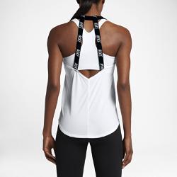 Женская майка для тренинга Nike BreatheЖенская майка для тренинга Nike Breathe из дышащей влагоотводящей ткани обеспечивает охлаждение и комфорт во время тренировок.<br>