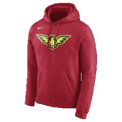 Мужская флисовая худи НБА Atlanta Hawks NikeМужская флисовая худи НБА Atlanta Hawks Nike из невероятно мягкого флиса защищает от холода во время игры и отдыха. Преимущества  Мягкий флис с внутренней стороны для тепла Капюшон с подкладкой для защиты и комфорта  Информация о товаре  Состав: 81% хлопок/19% полиэстер Машинная стирка Импорт<br>