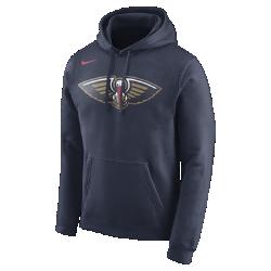 Мужская флисовая худи НБА New Orleans Pelicans NikeМужская флисовая худи НБА New Orleans Pelicans Nike из невероятно мягкого флиса защищает от холода во время игры и отдыха. Преимущества  Мягкий флис с внутренней стороны для тепла Капюшон с подкладкой для защиты и комфорта  Информация о товаре  Состав: 81% хлопок/19% полиэстер Машинная стирка Импорт<br>