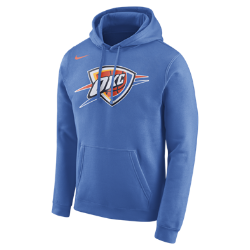 Мужская флисовая худи НБА Oklahoma City Thunder NikeМужская флисовая худи НБА Oklahoma City Thunder Nike из невероятно мягкого флиса защищает от холода во время игры и отдыха. Преимущества  Мягкий флис с внутренней стороны для тепла Капюшон с подкладкой для защиты и комфорта  Информация о товаре  Состав: 81% хлопок/19% полиэстер Машинная стирка Импорт<br>