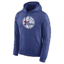 Мужская флисовая худи НБА Philadelphia 76ers NikeМужская флисовая худи НБА Philadelphia 76ers Nike из невероятно мягкого флиса защищает от холода во время игры и отдыха. Преимущества  Мягкий флис с внутренней стороны для тепла Капюшон с подкладкой для защиты и комфорта  Информация о товаре  Состав: 81% хлопок/19% полиэстер Машинная стирка Импорт<br>