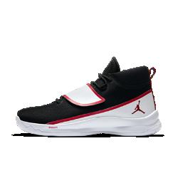 Мужские баскетбольные кроссовки Jordan Super.Fly 5 POМужские баскетбольные кроссовки Jordan Super.Fly 5 PO с легким и гибким верхом из сетки и специальной системой шнуровки надежно фиксируют стопу, не сковывая движений. Вставка Nike Zoom в передней части создает низкопрофильную адаптивную амортизацию для всей стопы.<br>