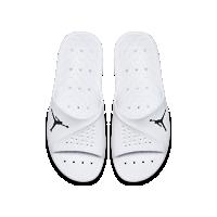 <ナイキ(NIKE)公式ストア> ジョーダン スーパーフライ チーム 2 グラフィック メンズスライド 881572-102 ホワイト画像
