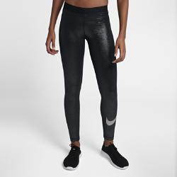 Женские тайтсы для тренинга Nike Pro SparkleЖенские тайтсы для тренинга Nike Pro из прочной влагоотводящей ткани, тянущейся во всех направлениях, обеспечивают комфорт во время тренировок. Блестящее покрытие повсей поверхности привлечет к тебе внимание во время занятий в зале или студии.  АБСОЛЮТНЫЙ КОМФОРТ  Быстросохнущая ткань с технологией Dri-FIT отводит влагу от кожи.  АБСОЛЮТНАЯ КОНЦЕНТРАЦИЯ  Плотно прилегающий эластичный пояс фиксирует посадку, а прочная ткань, тянущаяся во всех направлениях, обеспечивает свободу движений.<br>