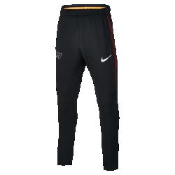 Футбольные брюки для школьников Nike Squad CR7Футбольные брюки для школьников Nike Squad CR7 из эластичной влагоотводящей ткани с боковыми вставками из сетки обеспечивают вентиляцию, комфорт и свободу движений на поле.<br>
