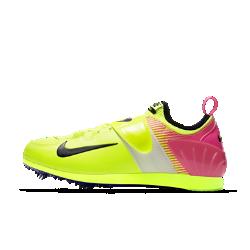 Легкоатлетические кроссовки унисекс Nike Zoom Pole Vault II OCНевероятно легкая конструкция легкоатлетических кроссовок унисекс Nike Zoom Pole Vault II с эластичной внутренней вставкой и системой Dynamic Fit обеспечивает удобную посадку для тренировок и соревнований. Подошва Pebax&amp;#174;и продуманное расположение съемных шипов обеспечивают максимальное сцепление с поверхностью.<br>
