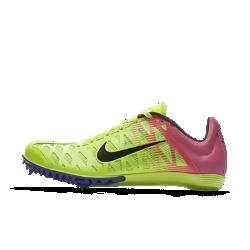 Шиповки унисекс для бега на короткие дистанции (спринт) Nike Zoom Maxcat 4 OCШиповки для бега на короткие дистанции унисекс Nike Zoom Maxcat 4 OC идеально подходят для дистанций 100–800 м благодаря сверхлегкому сетчатому верху и пяти съемным шипам дляпревосходного сцепления с поверхностью.<br>
