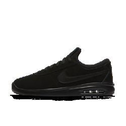 Мужская обувь для скейтбординга Nike SB Air Max Bruin VaporКЛАССИЧЕСКИЙ СТИЛЬ. СОВРЕМЕННЫЕ ТЕХНОЛОГИИ. Мужская обувь для скейтбординга Nike SB Air Max Bruin Vapor — усовершенствованный профиль классического оригинала с теми же линиями дизайна и превосходной амортизацией Max Air.Более тонкий профиль сокращает расстояние между стопой и поверхностью для уверенного сцепления с доской. Верх из замши для поддержки и прочности Конструкция без шнурков для фиксации и надежной посадки Низкопрофильная вставка Max Air для легкости и амортизации Подметка из пеноматериала с зигзагообразным рисунком для сцепления Резина на пятке для повышенного сцепления и прочности Преимущества  Верх из кожи или замши для поддержки и комфорта Внутренняя вставка обеспечивает удобную плотную посадку Стелька OrthoLite® для мягкости, комфорта и уверенного сцепления с доской Подошва из пеноматериала со вставкой Max Air в области пятки для легкости и амортизации Резиновая накладка на подметке в области пятки для прочности и сцепления  Истоки Nike Air Max Революционная вставка Air-Sole используется в обуви Nike с 1978 года. В 1987 году мир впервые увидел кроссовки Nike Air Max 1 с видимой вставкой Air-Sole в области пятки. С тех пор комфорт можно не только почувствовать, но и увидеть. Кроссовки Nike Air Max следующего поколения стали очень популярны среди атлетов и коллекционеров благодаря ярким цветовым сочетаниям, надежной амортизации и легкости.<br>