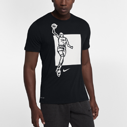 Мужская футболка Nike Dry KDМужская футболка Nike Dry KD из влагоотводящей ткани обеспечивает комфорт во время тренировки и на каждый день.<br>