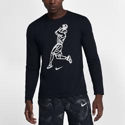 Мужская баскетбольная футболка с длинным рукавом Nike Dry KobeМужская баскетбольная футболка с длинным рукавом Nike Dry Kobe из влагоотводящей ткани обеспечивает комфорт во время игры.<br>