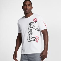 Мужская баскетбольная футболка Nike LeBronМужская баскетбольная футболка Nike LeBron из влагоотводящей ткани обеспечивает комфорт во время игры.<br>