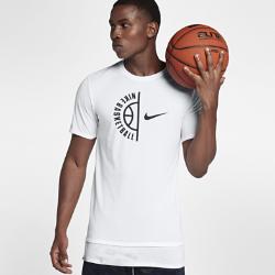 Мужская баскетбольная футболка Nike Dri-FITМужская баскетбольная футболка Nike Dri-FIT из влагоотводящей ткани обеспечивает комфорт во время игры.<br>