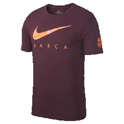 Мужская футболка FC Barcelona DryМужская футболка FC Barcelona Dry из мягкой влагоотводящей ткани с фирменными деталями обеспечивает длительный комфорт.<br>