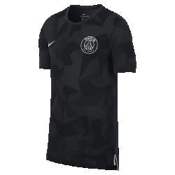 Мужская футболка Paris Saint-Germain Dry MatchМужская футболка Paris Saint-Germain Dry Match из мягкой влагоотводящей ткани дополнена командной символикой.<br>