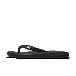 Мужские шлепанцы Nike SolayМужские шлепанцы Nike Solay с рельефной стелькой и мягкой подошвой из пеноматериала обеспечивают потрясающую функциональность.<br>
