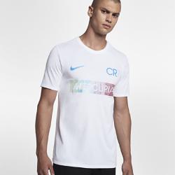 Мужская футболка Nike Dry CR7Мужская футболка Nike Dry CR7 из мягкой влагоотводящей ткани обеспечивает длительный комфорт.<br>