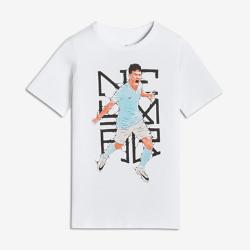 Футболка для школьников Nike Dry Neymar HeroФутболка для школьников Nike Dry Neymar Hero из мягкой влагоотводящей ткани обеспечивает длительный комфорт.<br>