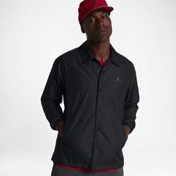Мужская куртка Jordan Sportswear Wings CoachesКуртка Jordan Wings Coaches из легкого, хорошо удерживающего форму материала с удлиненной нижней кромкой и удобным карманом для смартфона создана на основе оригинальной куртки AJ I Flight.<br>