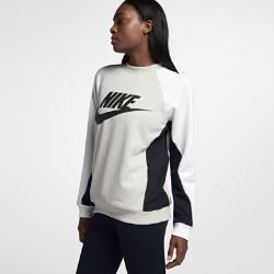 Женский свитшот Nike SportswearЖенский свитшот Nike Sportswear из мягкой ткани двойного переплетения с рукавами покроя реглан обеспечивает комфорт и свободу движений.<br>