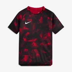 Игровая футболка с коротким рукавом для школьников Nike Dry SquadИгровая футболка с коротким рукавом для школьников Nike Dry Squad из влагоотводящей ткани с рукавами покроя реглан обеспечивает комфорт и свободу движений на поле.<br>