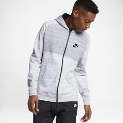 Мужская худи Nike Sportswear Advance 15Мужская худи Nike Sportswear Advance 15 из мягкого смесового хлопка с регулируемым капюшоном обеспечивает тепло и создает неповторимый образ.<br>