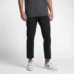 Мужские брюки Hurley CovertПлотно прилегающие мужские брюки Hurley Covert обеспечивают комфорт, создавая стильный образ для работы или вечеринки. Штанины длиной 68,5 см выглядят слегка укороченными.<br>