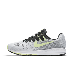 Мужские беговые кроссовки Nike Air Zoom Structure 20 SolsticeМужские беговые кроссовки Nike Air Zoom Structure 20 Solstice с более широким основанием обеспечивают непревзойденную стабилизацию, поддержку и гибкость, а также упругую амортизацию, которая делает каждый шаг комфортным.  Дополнительная стабилизация  Технология динамической поддержки адаптируется к движениям стопы для стабилизации при каждом приземлении. Мягкий пеноматериал для амортизации и плавности движений стопы.  Надежная фиксация  Технология Dynamic Fit в средней части стопы обеспечивает надежную фиксацию и идеальную посадку.  Легкость и воздухопроницаемость  Бесшовный верх Flymesh обеспечивает вентиляцию без утяжеления и длительный комфорт.<br>