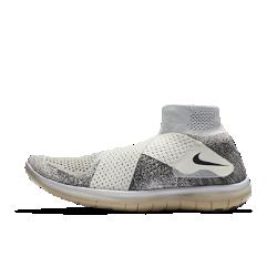 Мужские беговые кроссовки NikeLab Free RN Motion Flyknit 2017Мужские кроссовки NikeLab Free RN Motion Flyknit 2017 с невероятно гибкой подошвой для свободы движений стопы и инновационной системой с двумя ремешками для удобной посадки без шнуровки.<br>