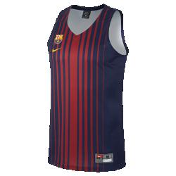 Мужское баскетбольное джерси FC Barcelona ReplicaМужское баскетбольное джерси FC Barcelona Replica из влагоотводящей ткани обеспечивает комфорт на площадке и на трибунах.<br>