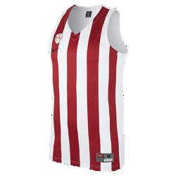 Мужское баскетбольное джерси Olympiacos BC ReplicaМужское баскетбольное джерси Olympiacos BC Replica из влагоотводящей ткани обеспечивает комфорт на площадке и на трибунах.<br>