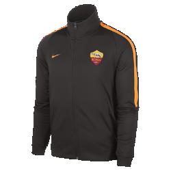 Мужская куртка Roma Authentic N98Футбольные шорты для школьников 2017/18 A.S. Мужская куртка A.S. Roma Nike Sportswear Authentic N98 обеспечивает комфорт и защиту от холода благодаря прочной ткани и воротнику-стойке с молнией до подбородка.<br>