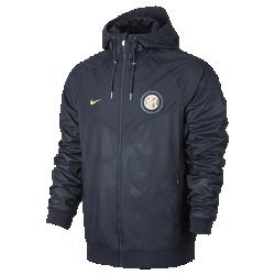 Мужская куртка Inter Milan Authentic WindrunnerМужская куртка Inter Milan Authentic Windrunner сохранила классические элементы оригинальной модели: шеврон на груди и прочную ткань, защищающую от непогоды во время игры или прогулки.<br>