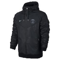 Мужская куртка Paris Saint-Germain Authentic WindrunnerМужская куртка Paris Saint-Germain Authentic Windrunner сохранила классические элементы оригинальной модели: шеврон на груди и прочную ткань, которая защищает от непогоды во время игры и на улицах города.<br>