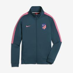 Куртка для школьников Atletico de Madrid Authentic N98Куртка для школьников Atletico de Madrid Authentic N98 из прочной ткани с воротником-стойкой и молнией до подбородка обеспечивает тепло и комфорт.<br>