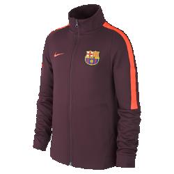 Куртка для школьников FC Barcelona Authentic N98Куртка для школьников FC Barcelona Authentic N98 превосходно сохраняет тепло в прохладную погоду. Элементы дизайна заимствованы у классической куртки для бега.<br>