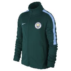 Куртка для школьников Manchester City FC Authentic N98Куртка для школьников Manchester City FC Authentic N98 превосходно сохраняет тепло в прохладную погоду. Элементы дизайна заимствованы у классической куртки для бега.<br>