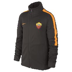 Куртка для школьников A.S. Roma Authentic N98Куртка для школьников A.S. Roma Authentic N98 превосходно сохраняет тепло в прохладную погоду. Элементы дизайна заимствованы у классической куртки для бега.<br>