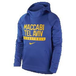 Мужская баскетбольная худи Maccabi Tel Aviv EliteМужская баскетбольная худи Maccabi Tel Aviv Elite из теплой ткани с фирменными деталями обеспечивает комфорт.<br>