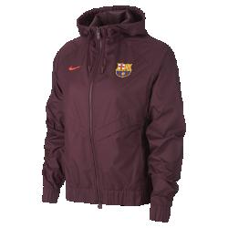 Женская куртка FC Barcelona Authentic WindrunnerЖенская куртка FC Barcelona Authentic Windrunner сохранила классические элементы оригинальной модели: шеврон на груди и прочную ткань, которая защищает от непогоды во время игрыи на улицах города.<br>
