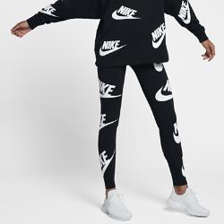 Женские леггинсы с графикой Nike SportswearЖенские леггинсы с графикой Nike Sportswear из мягкой эластичной ткани обеспечивают комфорт и свободу движений на весь день.<br>