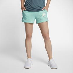 Женские шорты Nike Sportswear VintageЖенские шорты Nike Sportswear Vintage из мягкой смесовой ткани на основе хлопка дарят комфорт на весь день.<br>