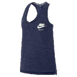 Женская майка Nike Sportswear Gym VintageЖенская майка Nike Sportswear Gym Vintage из мягкого смесового хлопка обеспечивает длительный комфорт.<br>