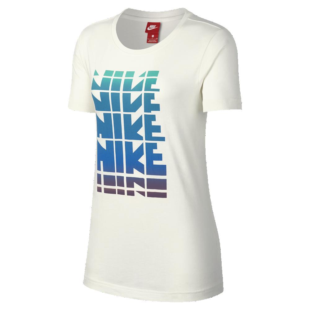 セール!<ナイキ(NIKE)公式ストア> ナイキ スポーツウェア ウィメンズ Tシャツ 883960-133 クリーム ★30日間返品無料 / Nike+メンバー送料無料