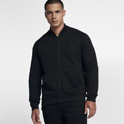 Мужская куртка Jordan Sportswear Fleece BomberМужская куртка Jordan Sportswear Fleece Bomber из мягкой ткани френч терри с дизайном в стиле милитари отлично удерживает тепло.<br>